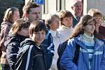 Setkání rodáků a přátel v Červených Janovicích u příležitosti 100. výročí vysvěcení kostela sv. Martina - sázení pamětní lípy.
