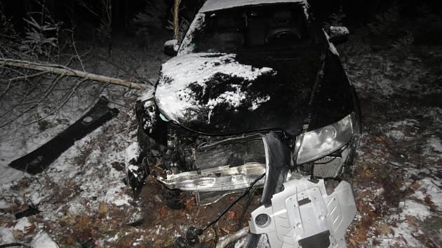 Dopravní nehoda Chabeřice.