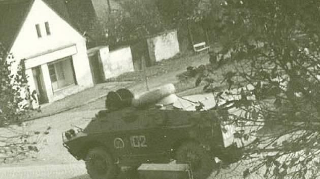 Srpen 1968 v Kácově.