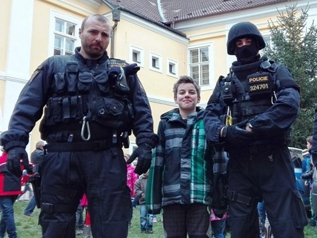 Den s policií v Nových Dvorech