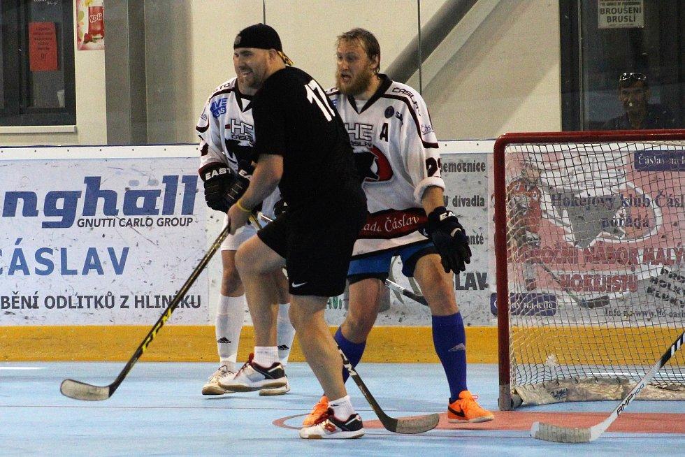 Hokejisté Čáslavi porazili All Star tým Šíša Cupu 5:4.