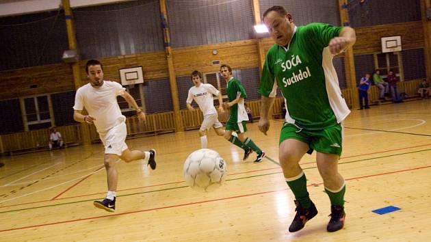 Futsal liga: 4. hrací den kutnohorské Futsal ligy Restaurace Na Valech, čtvrtek 20. listopadu 2008