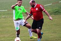 Fotbalisté Hlízova si v prvním domácím utkání jarní části sezony s chutí zastříleli a Tuchoraz porazili 5:0.