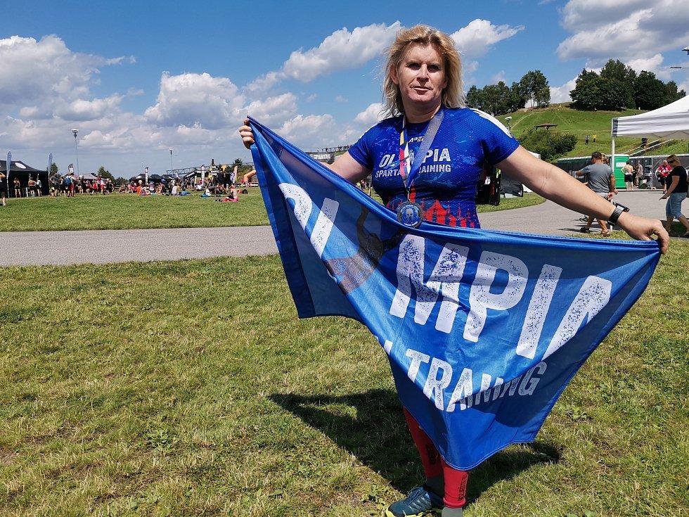 Olympia Spartan Training Kutná Hora v Liberci. Na snímku Monika Andělová.