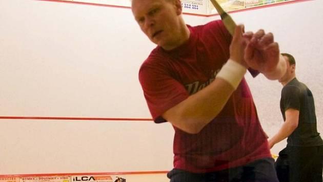 Radek Novotný a Roman Tandler na turnaji Semtex cup