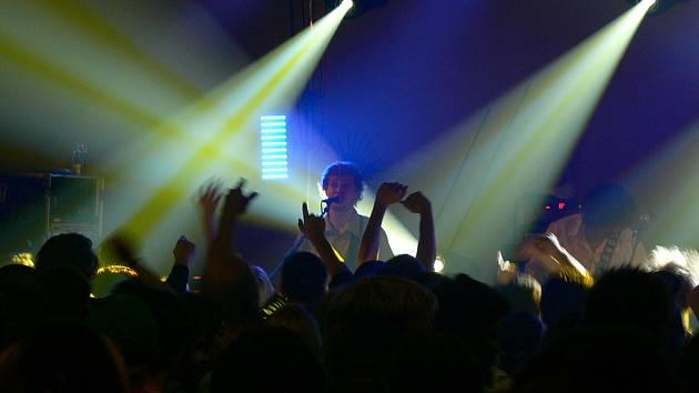 Koncert kapely Wohnout.