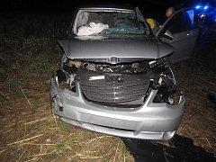 Dopravní nehoda na křižovatce silnic II/339 a III/33718.