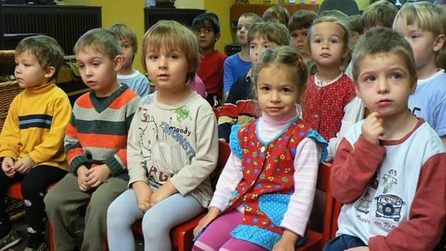 Děti z Mateřské školy Dačického Kutná Hora.