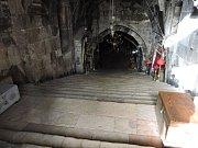 Kostel Hrobu Panny Marie v Getsemanské zahradě.
