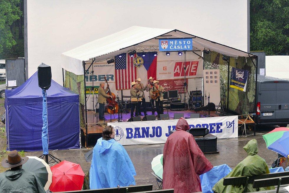 V letním kině v Čáslavi se konal 48. ročník nejstaršího evropského, a největšího bluegrassového festivalu v České republice, Banjo Jamboree 2020.