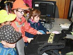Děti z Vavřince navštívily policisty