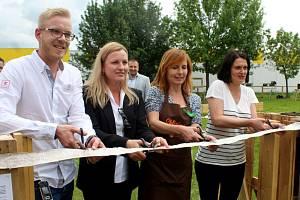 Na sílišti Šipší otevřeli komunitní zahradu.