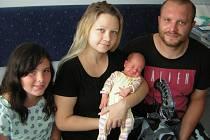 Ema Stehlíková se poprvé na svět podívala 24. června 2019 v 10.41 hodin v čáslavské porodnici. Vážila 3380 gramů a měřila 53 centimetrů. Domů do Čáslavi si ji odvezli maminka Kateřina, tatínek Jan a devítiletá sestřička Týna.