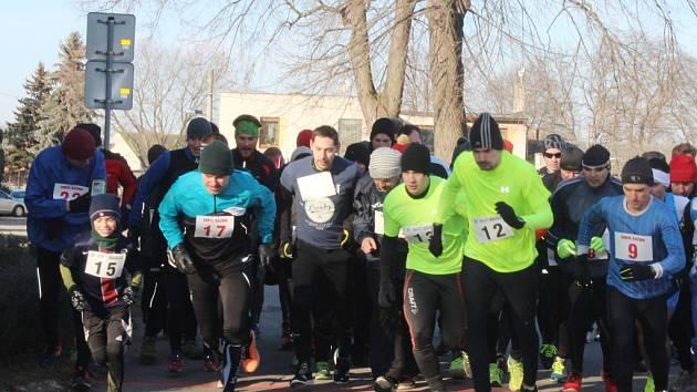 Silvestrovský běh ve Svatém Mikuláši