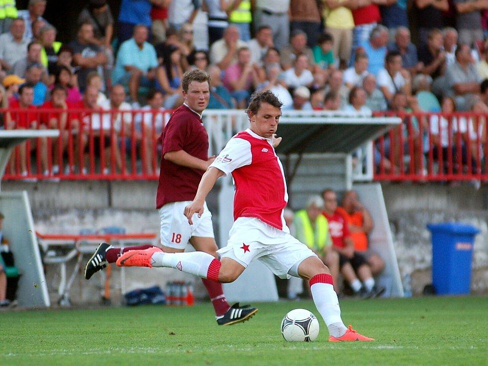 2. kolo Poháru České pošty: Kutná Hora - Slavia Praha 0:1, 29. srpna 2012.