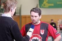 1. zápas čtvrtfinále Jetbull futsal ligy: Benago Zruč - Nejzbach V. Mýto 5:3, 13. března 2011.