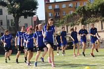 Slavnostní otevření nového hřiště u Základní školy Kutná Hora, Kamenná stezka 40