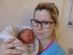 Alexandr Novák se narodil 26. ledna vČáslavi. Vážil 2920 gramů a měřil 49 centimetrů. Doma vGolčově Jeníkově ho přivítali maminka Pavlína a tatínek Kamil.
