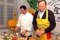 Vaření na Kaňku s Jaromírem Procházkou, kutnhohorským fotografem