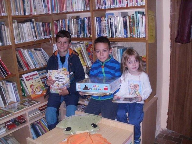 V Miskovicích si užili Týden knihoven.