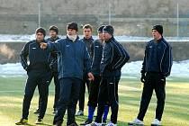 První trénink fotbalistů FC Zenit Čáslav v roce 2010, úterý 5. ledna 2010