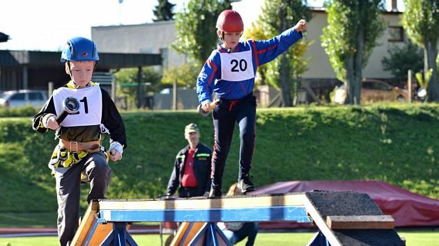 Mladí hasiči v dalším ročníku soutěže Plamen.