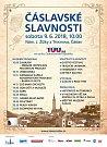 Pozvánka na Čáslavské slavnosti 2018.