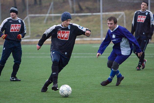Fotbal (přípava): Čáslav B - Světlá n. S. 8:0, neděle 8. února 2009