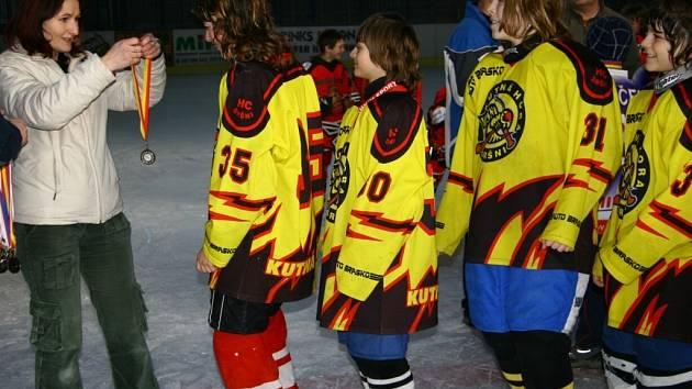 Mladší žáci Kutné Hory obsadili na vlastním miniturnaji druhé místo.