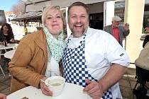 Festival dobrého jídla a pití se 7. dubna již podruhé konal ve Vile U Varhanáře, na terase s nejkrásnějším výhledem v Kutné Hoře