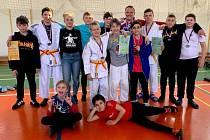 Čáslavští judisté přivezli medaile z druhého kola Polabské ligy.