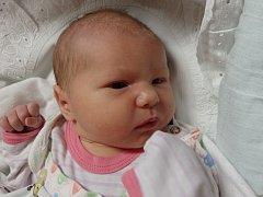 Adéla Břeňová se narodila 20. listopadu v Čáslavi. Vážila 3520 gramů a měřila 52 centimetrů. Doma v Dolních Bučicích ji přivítali maminka Martina a tatínek Tomáš.