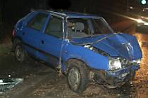 Nehoda v Hrnčířské ulici v Kutné Hoře.