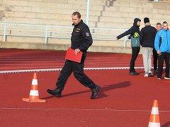 Kutnohorští středoškoláci si vyzkoušeli policejní fyzické testy.