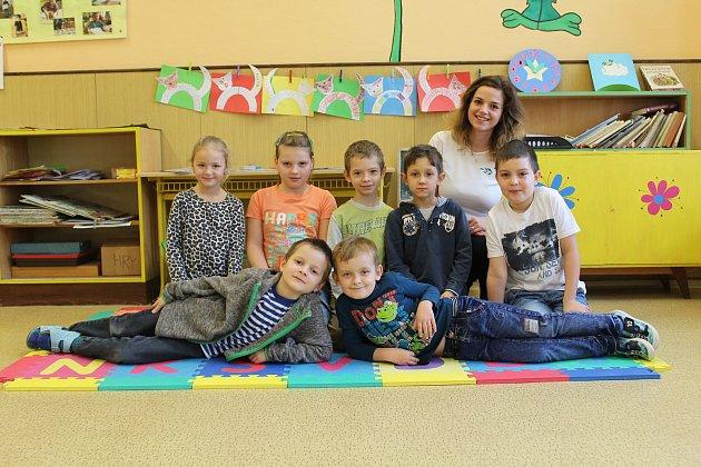 Základní škola Žleby, třídní učitelka Andrea Jandová.