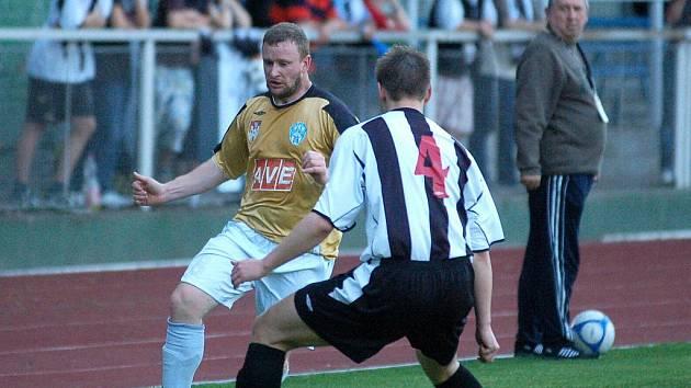 Krajský přebor: Čáslav B - Úvaly 1:0, 18. května 2011.