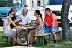 Poslední srpnový den se v Uhlířských Janovicích konalo slavnostní Loučení s létem.