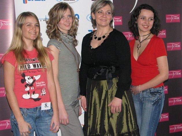 Z castingu MISS JUNIOR 2008 v Kutné Hoře.