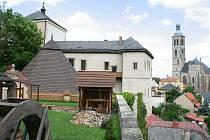 Středověký důl na Hrádku v Kutné Hoře.