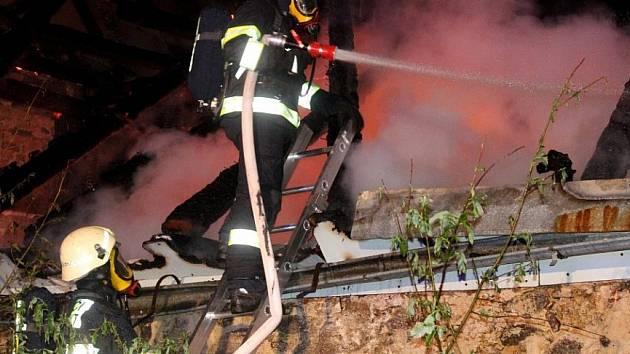 Ilustrační foto požár.