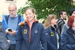 Slavnostní zahájení 9. ročníku Mistrovství světa v bezmotorovém létání žen