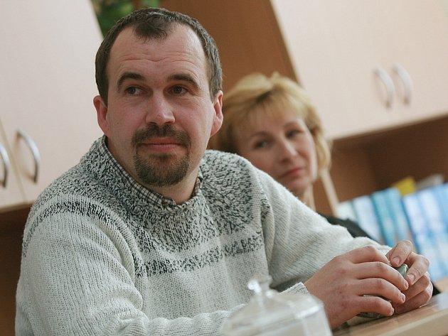 Místostarosta Červených Janovic Miroslav Ptáček.