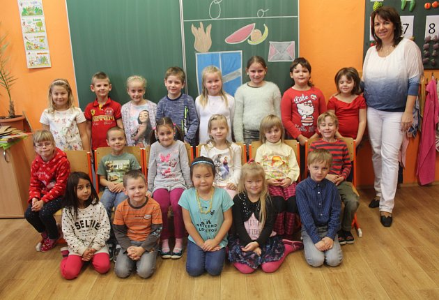 Základní škola T.G. Masaryka Kutná Hora, třída I.B střídní učitelkou Petrou Koudelkovou