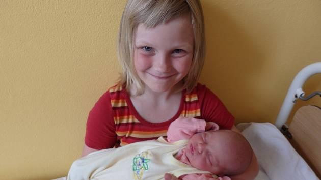 Mirjam Fidlerová se narodila 20. července v Čáslavi. Vážila 3220 gramů a měřila 51 centimetrů. Doma v Dolních Bučicích ji přivítali maminka Klára, tatínek Tomáš a sestra Rozárka.