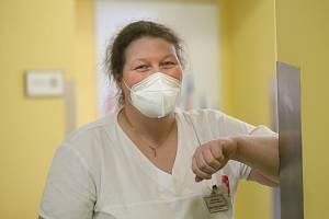 Zdenka Volková, vrchní sestra geriatrického oddělení Městské nemocnice v Čáslavi.