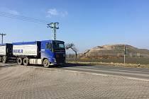 Skládka odpadu v Čáslavi.