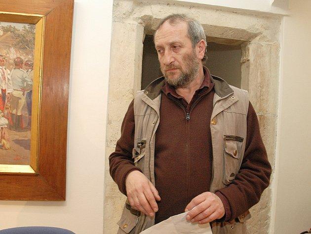 Malíř Ivan Bukovský.
