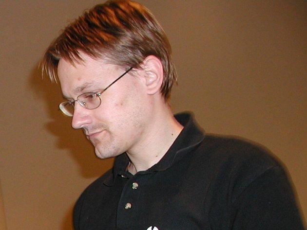 Martin Starý z občanského sdružení Denemark.