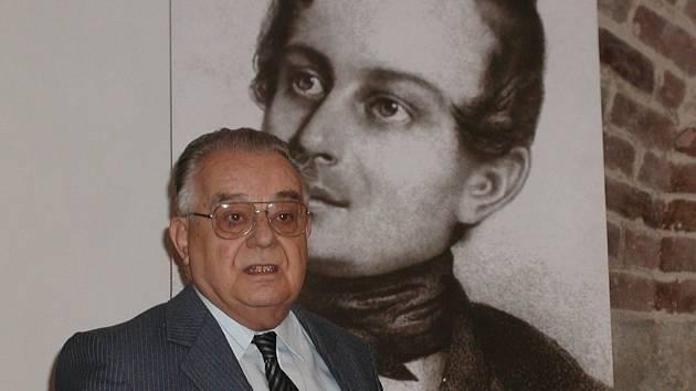 Literární historik Radko Šťastný.