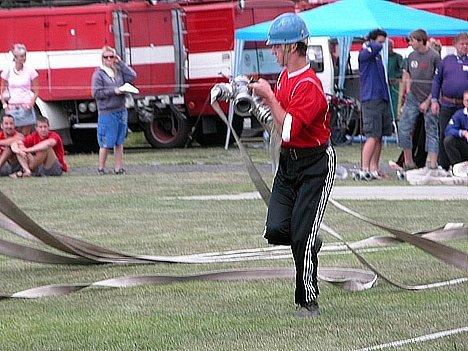 Poslední kolo Kutnohorské hasičské ligy 2007 v Nových Dvorech.